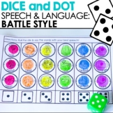Battle Style Dice and Dot for Speech Therapy