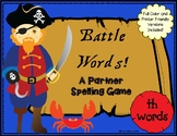 Battle Words Phonics and Spelling Game- TH Words