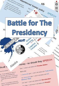 Battle for The Presidency - Game for Presidential election 2016