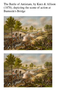 Battle of Antietam US Civil War Word Search