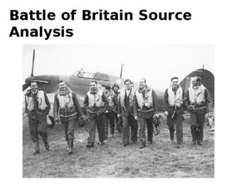 Battle of Britain Source Analysis Activity