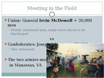 Battle of Bull Run PowerPoint
