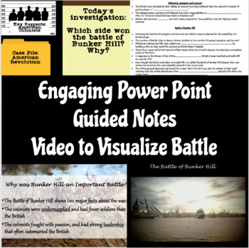 Battle of Bunker Hill & Constructed Response Lesson