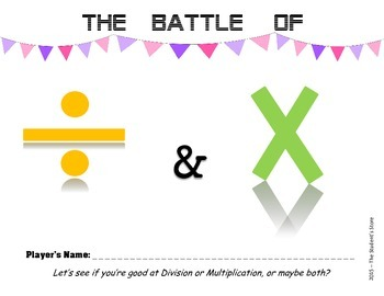 Battle of Division and Multiplication