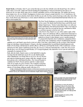 Battle of Gettysburg: Two Teens' Comparison of Before and After