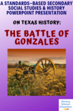 Battle of Gonzales TX History