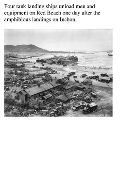 Battle of Inchon – September 1950 Korean War Word Search