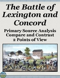 Battle of Lexington and Concord Primary Source Analysis
