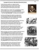 Battle of Lexington and Concord (34) - poem, worksheets, puzzle