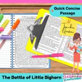 Battle of Little Bighorn & Sitting Bull: Passage