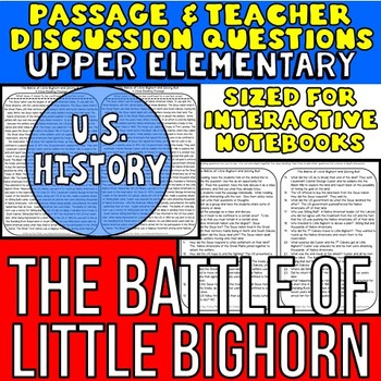 Battle of Little Bighorn & Sitting Bull: Passage
