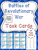 Battle of Revolutionary War Task Cards