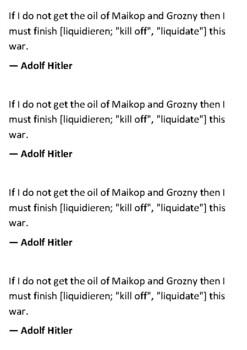 Battle of Stalingrad Handout