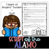 Battle of the Alamo Reader's Theater