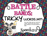 Battle of the Bands: Multisyllabic words, Vocabulary: Speech Therapy