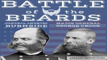 Battle of the Beards Union v. Confederacy