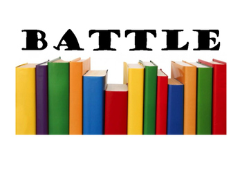 Battle of the Blocks Sign (Book battle)
