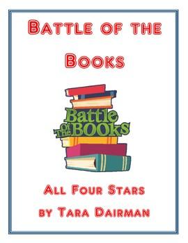 Battle of the Books: All Four Stars by Tara Dairman