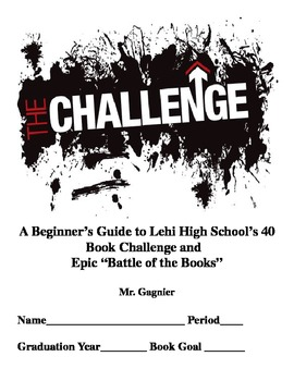 Battle of the Books Booklet for Junior High and High School