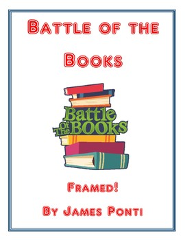 Battle of the Books: Framed! by James Ponti