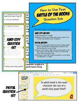 Battle of the Books Game Questions: Loot-- How to Steal a Fortune