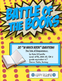 Battle of the Books Game Questions: Tale of Despereaux by