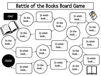 Battle of the Books Gameboard