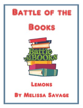 Battle of the Books: Lemons by Melissa Savage