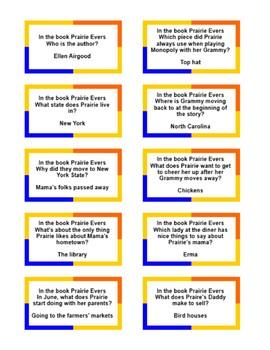Battle of the Books: Prairie Evers by Ellen Airgood