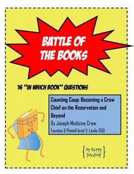 """Battle of the Books Question Set: """"Counting Coup: Becoming a Crow Chief..."""""""