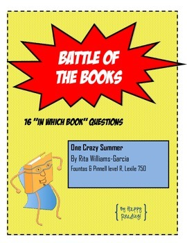 "Battle of the Books Question Set: ""One Crazy Summer"""