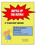 "Battle of the Books Question Set: ""The Champ: The Story of"