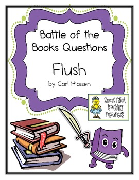 """Battle of the Books Questions: """"Flush"""", by Carl Hiassen"""