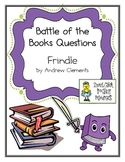 "Battle of the Books Questions: ""Frindle"", by Andrew Clements"