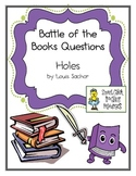 """Battle of the Books Questions: """"Holes"""", by L. Sachar"""