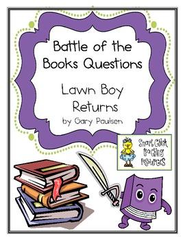 "Battle of the Books Questions:  ""Lawn Boy Returns"", by Gary Paulsen"