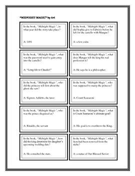 """Battle of the Books Questions: """"Midnight Magic"""", by Avi"""