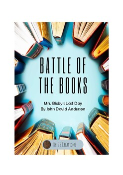 Battle of the Books Questions: Mrs. Bixby's Last Day by John David Anderson