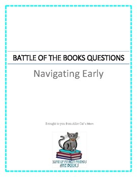 Battle of the Books Questions - Navigating Early by Claire Vanderpool