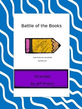 Battle of the Books Questions: Stranded