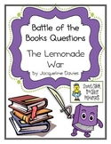"Battle of the Books Questions: ""The Lemonade War"" by J. Davies"