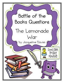 """Battle of the Books Questions: """"The Lemonade War"""" by J. Davies"""