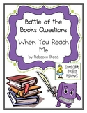 """Battle of the Books Questions: """"When You Reach Me"""", by R. Stead"""