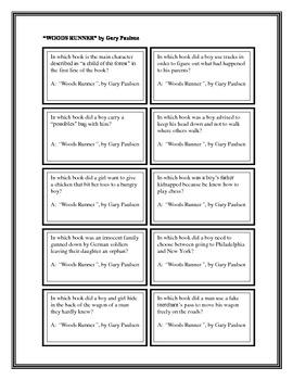 "Battle of the Books Questions: ""Woods Runner"", by Gary Paulsen"