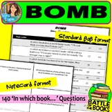 Battle of the Books Questions for Bomb by Steve Sheinkin