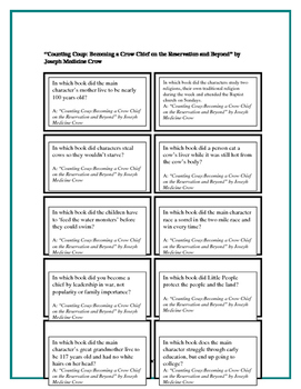 Battle of the Books Questions for Counting Coup: Becoming a Crow Chief...