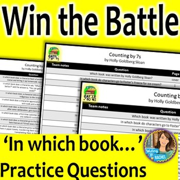 Battle of the Books Questions for Counting by 7s
