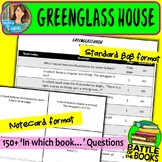Battle of the Books Questions for Greenglass House by Kate Milford