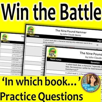 Battle of the Books Questions for The Nine Pound Hammer