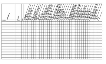 Battle of the Books Record Sheet